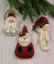 Santa Ornament & Pins Collection II