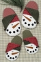 Frosty The Snowman Slippers # 3076`