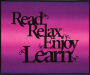 Read Relax Enjoy Learn Wall Hanging Kit