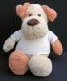 Hond met korte oren, met T-shirt, 45cm