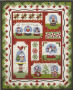 Snow Globe Village Complete Set  + Accessory Fabric Packet