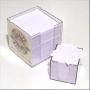 Box voor onderzetters of papier