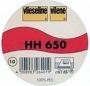 HH 650  Dubbelzijdig opstrijkbaar volumevlies