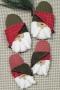 Santa Slippers  #3075