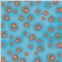 LD Fun Paws Turquoise Fabric