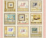 QT Tailor Made Large Sewing Machines Picture Patches