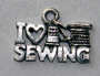 I Love Sewing Bedeltje