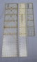 Multifunctionele liniaal cm en inch - 7,5 cm x 40 cm