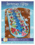 Snowman Village Table Runner