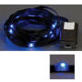LED Ribbon Lights 3 mm Black-Blue 150 cm