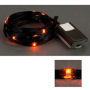 LED Ribbon Lights 3 mm Black-Orange 150 cm