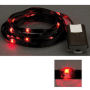 LED Ribbon Lights 3 mm Black-Red 150 cm