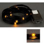 LED Ribbon Lights 3 mm Black-Yellow 150 cm