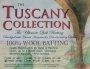The Tuscany Collection - Throw Size - Wool